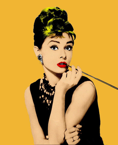 Audrey Hepburn - Pop Art - Tallenge Hollywood Poster Collection