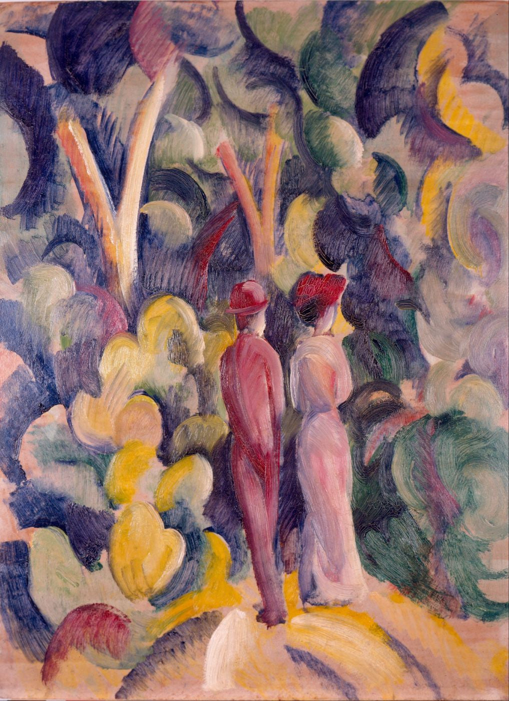 August Macke Paintings | Buy Posters, Frames, Canvas, Digital Art & Large Size Prints Of The Famous Modern Master's Artworks