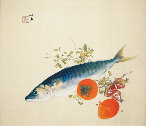 Autumn Fattens Fish and Ripens Wild Fruits - Posters