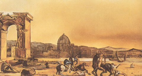 The City Of The Drawers By Salvador Dali Buy Posters