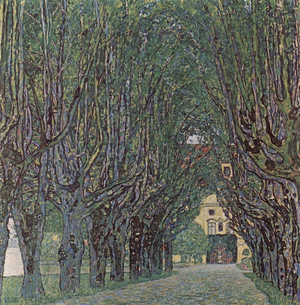 Avenue Of Schloss Kammer Park - Art Prints