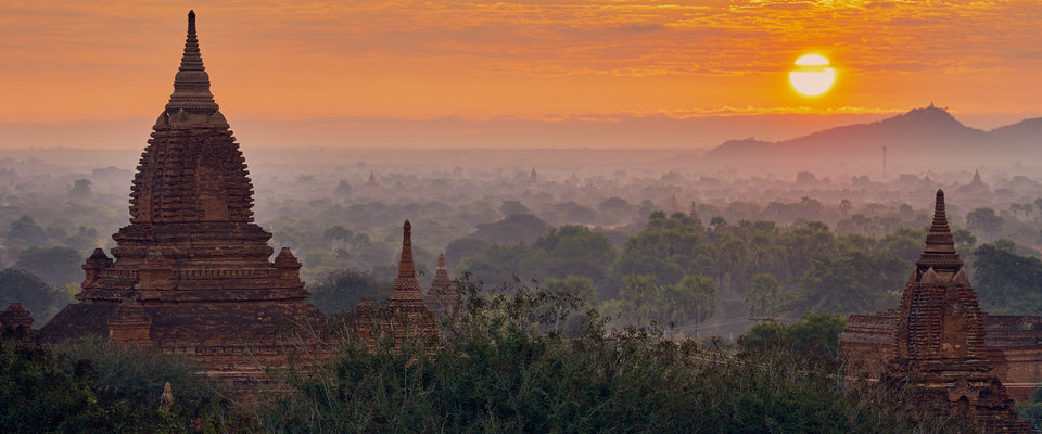 Bagan Sunrise by Charles Ooi | Buy Posters, Frames, Canvas  & Digital Art Prints