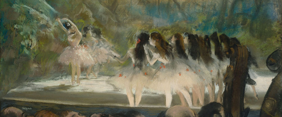 Ballet at the Paris Opéra by Edgar Degas | Buy Posters, Frames, Canvas  & Digital Art Prints