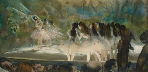 Ballet at the Paris Opéra - Canvas Prints
