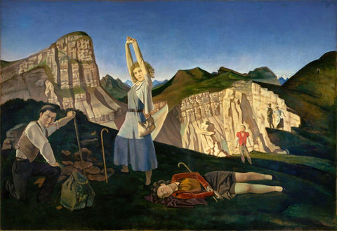 Balthus - The Mountains
