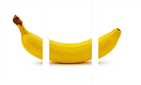 Banana Triptych - Art Panels