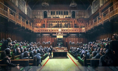 Bansky - Devolved Parliament