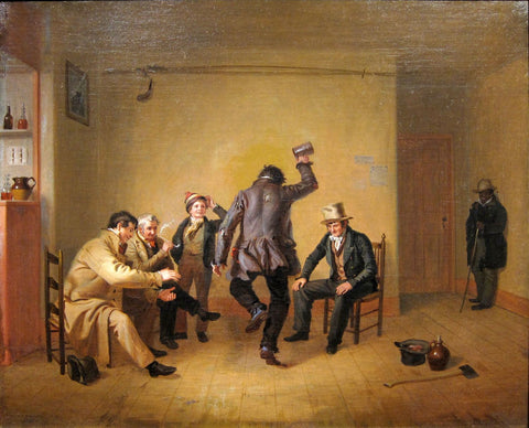 Bar-Room Scene by William Sidney Mount