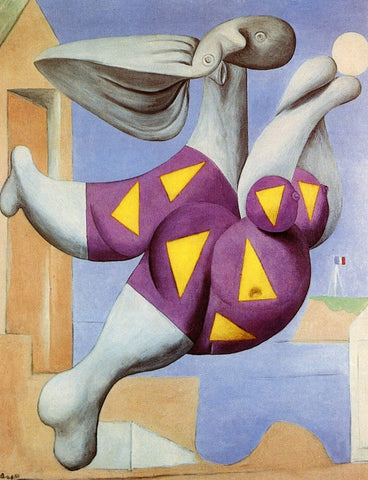 Pablo Picasso - Bather With Beach Ball