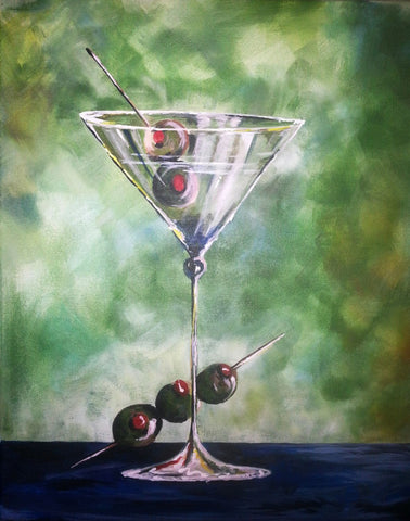 Martini & Olives - Life Size Posters