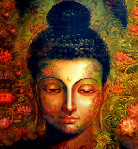 Beautiful And Divine Buddha by Tallenge Store