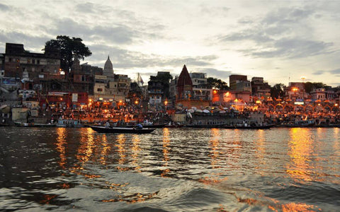 Benaras At Night - The Holy City of Varanasi