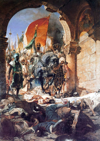 The Entry of Mahomet II into Constantinople