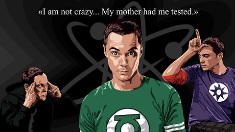 Big Bang Theory - I'm not crazy - Life Size Posters