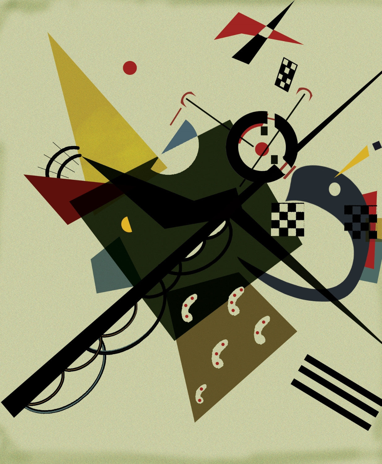 Wassily Kandinsky Paintings | Buy Posters, Frames, Canvas, Digital Art & Large Size Prints Of The Famous Modern Master's Artworks