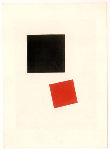 Kazimir Malevich - Black Square And Red Square, 1915