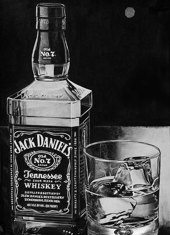 Black And White JD Art