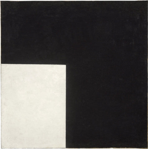 Kazimir Malevich - Black and White, Suprematist Composition, 1915