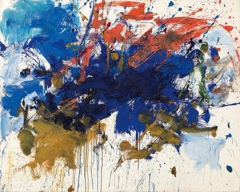 Blue Michigan - Joan Mitchell - Abstract Masterpiece Painting