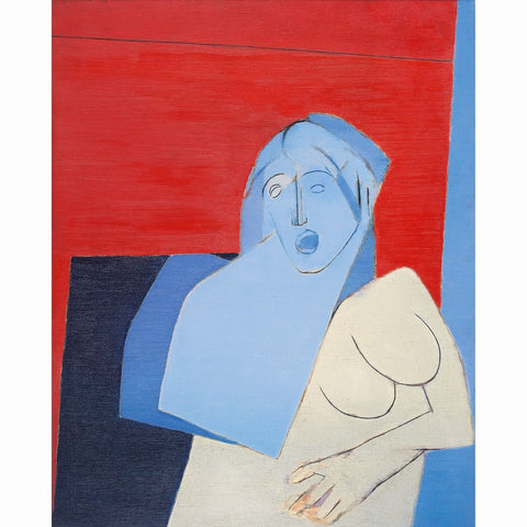 Blue Torso, 1973 - Canvas Prints