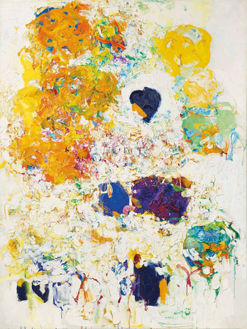 Blueberry - Joan Mitchell - Abstract Masterpiece Painting