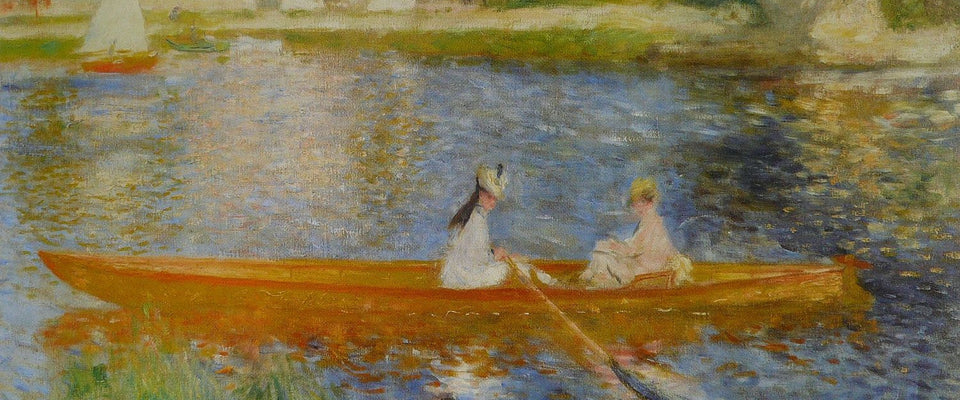 Boating On The Seine by Pierre-Auguste Renoir | Buy Posters, Frames, Canvas  & Digital Art Prints
