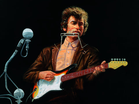Bob Dylan At Newport