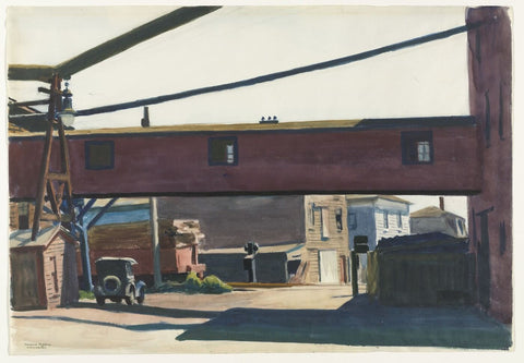 Box Factory - Gloucester by Edward Hopper