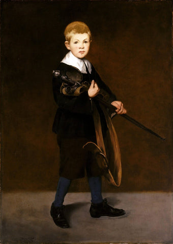 Boy With A Sword (L'Enfant à l'épée) - Édouard Manet