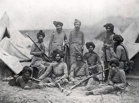 British 15th Punjab Infantry regiment (1858)
