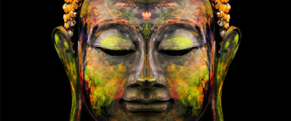 Buddha - The Enlightened One - Yog by Anzai | Buy Posters, Frames, Canvas  & Digital Art Prints