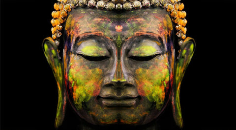 Buddha - The Enlightened One - Yog - Canvas Prints