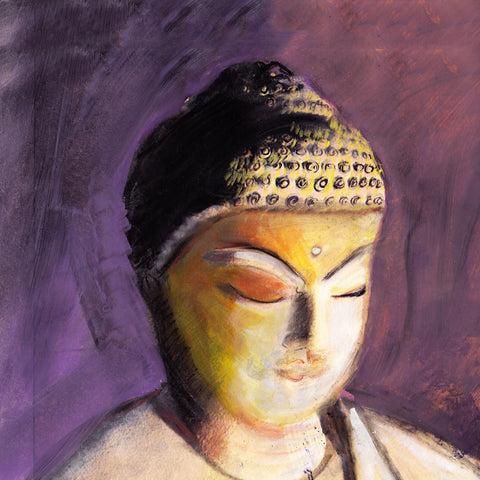 Buddha In Purple