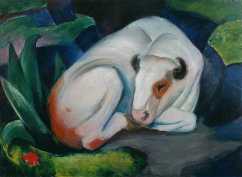 Bull - Posters by Franz Marc