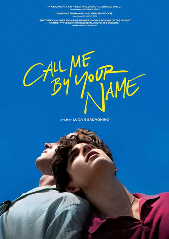 Call Me By Your Name - Hollywood Movie Poster by Tallenge Store
