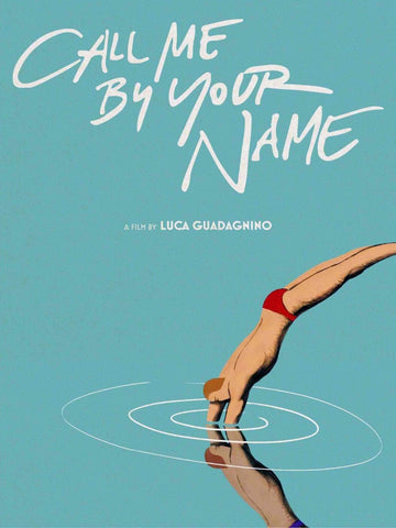 Call Me By Your Name - Tallenge Hollywood Movie Graphic Poster by Tallenge Store