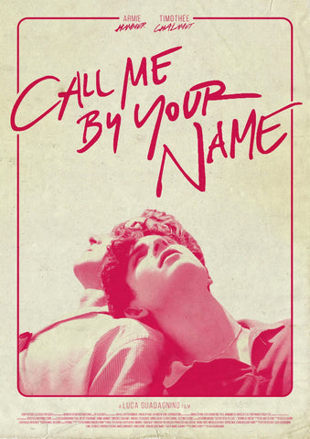 Call Me By Your Name - Tallenge Hollywood Movie Retro Style Poster by Tallenge Store