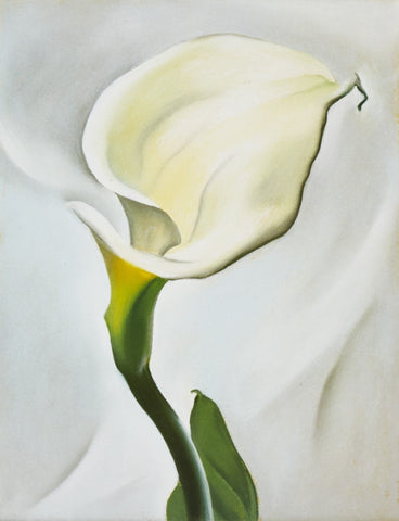 Calla Lily Turned Away - Posters by Georgia OKeeffe