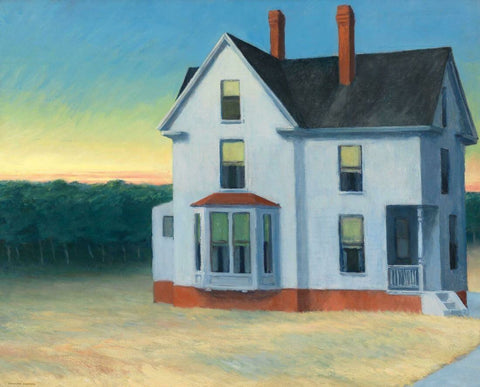 Cape Cod Sunset - Edward Hopper by Edward Hopper