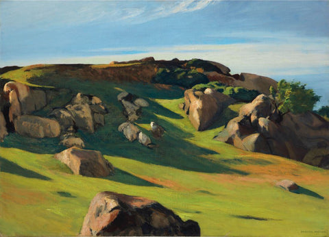 Cape Ann Granite - Edward Hopper by Edward Hopper