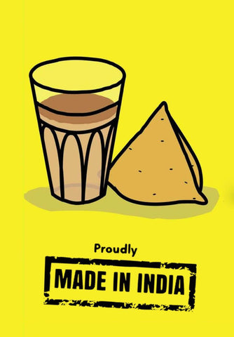 Chai Samosa Made In India by Tallenge Store