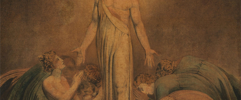 Christ Appearing to the Apostles after the Resurrection by William Blake | Buy Posters, Frames, Canvas  & Digital Art Prints
