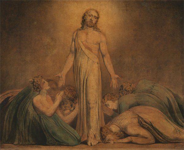 Christ Appearing to the Apostles after the Resurrection by William Blake | Tallenge Store | Buy Posters, Framed Prints & Canvas Prints
