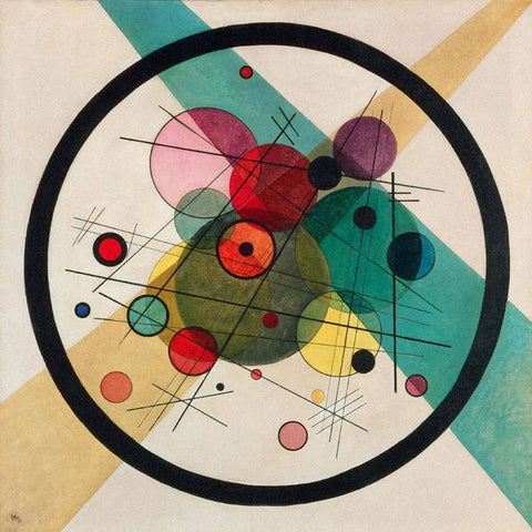Circles In A Circle - Wassily Kandinsky