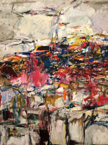 City Landscape - Joan Mitchell - Abstract Masterpiece Painting