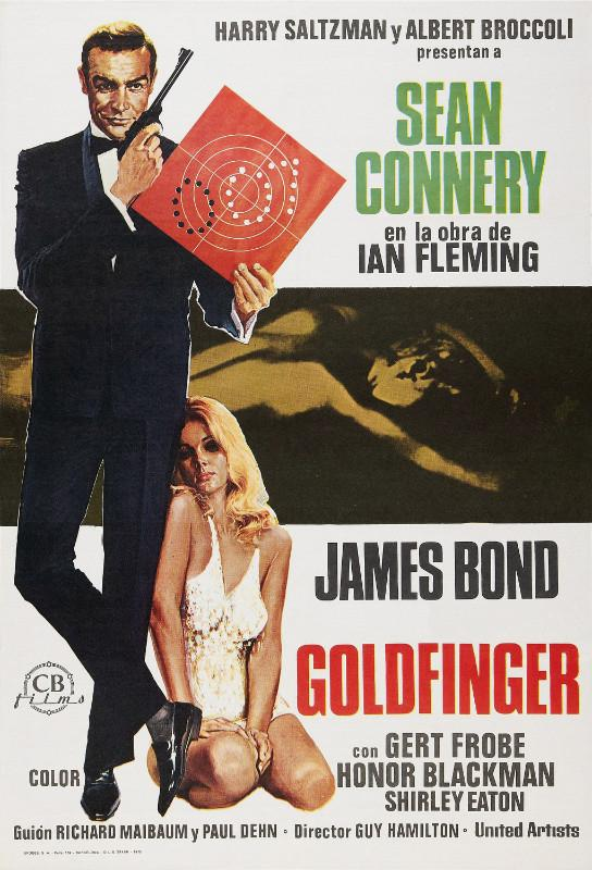 Classic Movie Art Poster - Gold Finger - Tallenge Hollywood James Bond  Poster Collection - Canvas Prints by Tallenge Store | Buy Posters, Frames,  Canvas & Digital Art Prints | Small, Compact, Medium and Large Variants