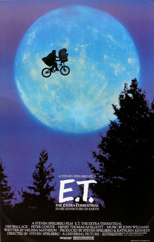 Classic Movie Poster - ET The Extra Terrestrial - Steven Spielberg - Tallenge Hollywood Poster Collection by Tim