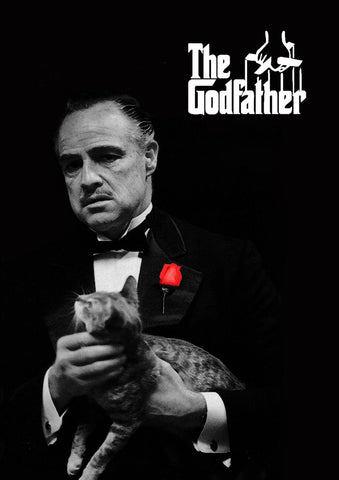 Classic Movie Poster Art - The Godfather - Tallenge Hollywood Poster Collection by Bethany Morrison