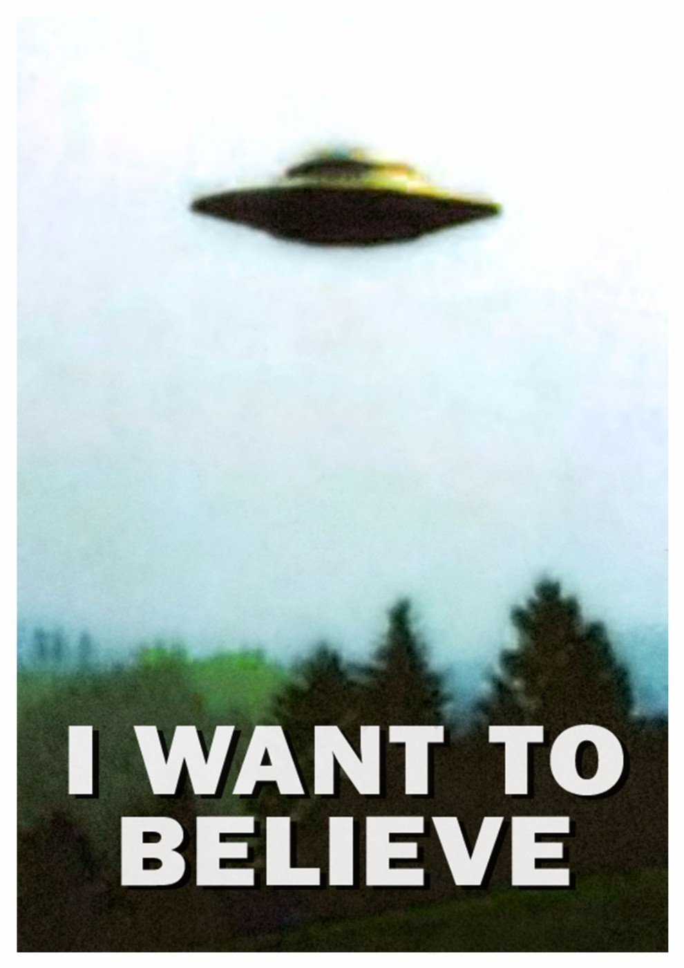 Classic TV Poster X Files Mulder I Want To BelieveX Files I Want To Believe Poster
