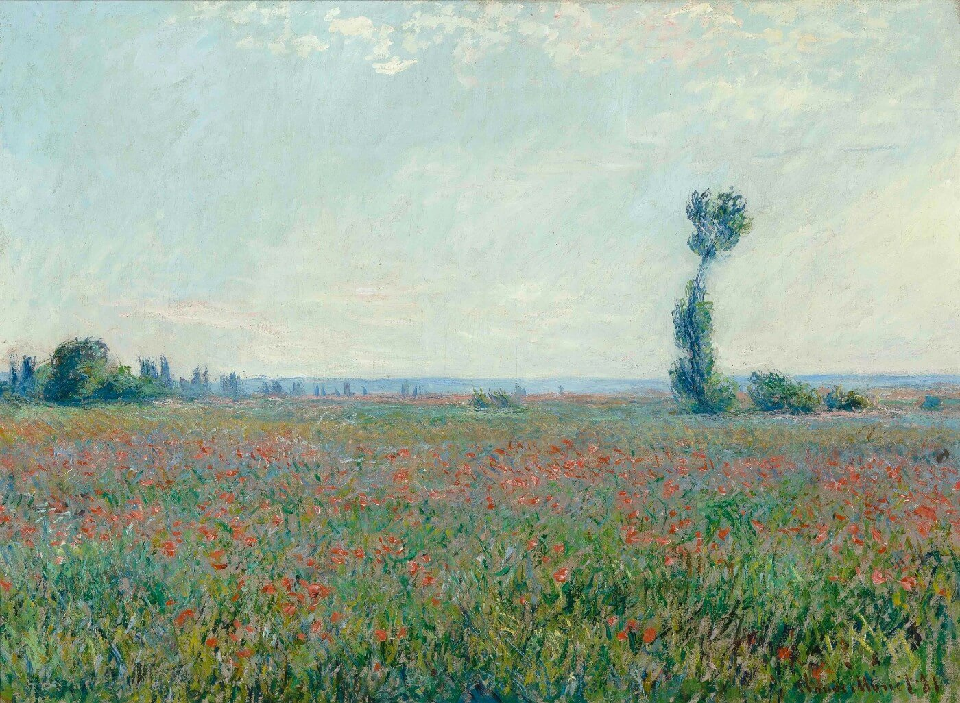 Field with poppies - Posters by Claude Monet | Buy Posters, Frames, Canvas  & Digital Art Prints | Small, Compact, Medium and Large Variants